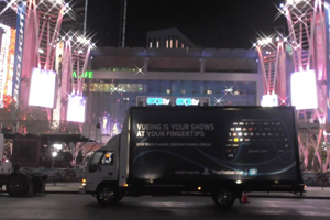 illuminated mobile billboard