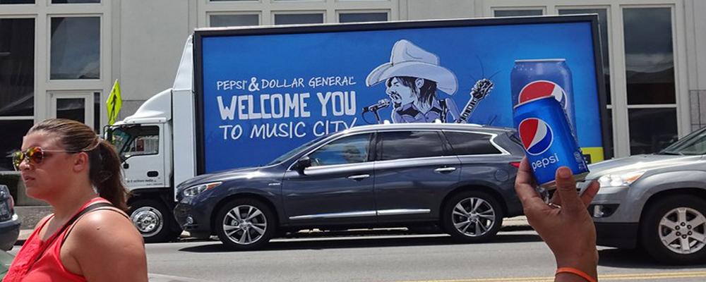 mobile billboard campaign
