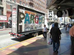 Parque - LA mobile billboard