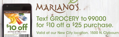 Mariano's SMS + OOH campaign