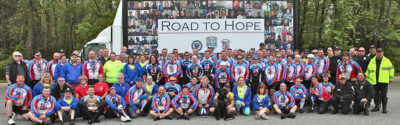 Law Enforcement United Bicycle Tour Road to Hope