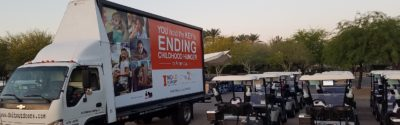 No Kid Hungry mobile billboard