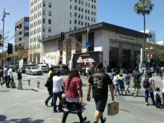 mobile billboard in LA
