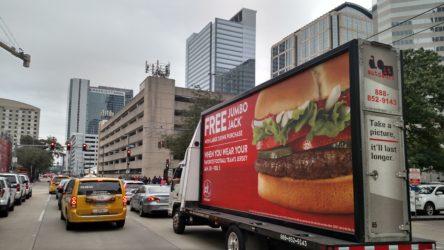 mobile billboard food marketing