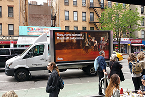 mobile billboard NYC