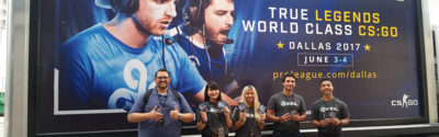 ESL Gaming Mobile Billboard and Brand Ambassadors