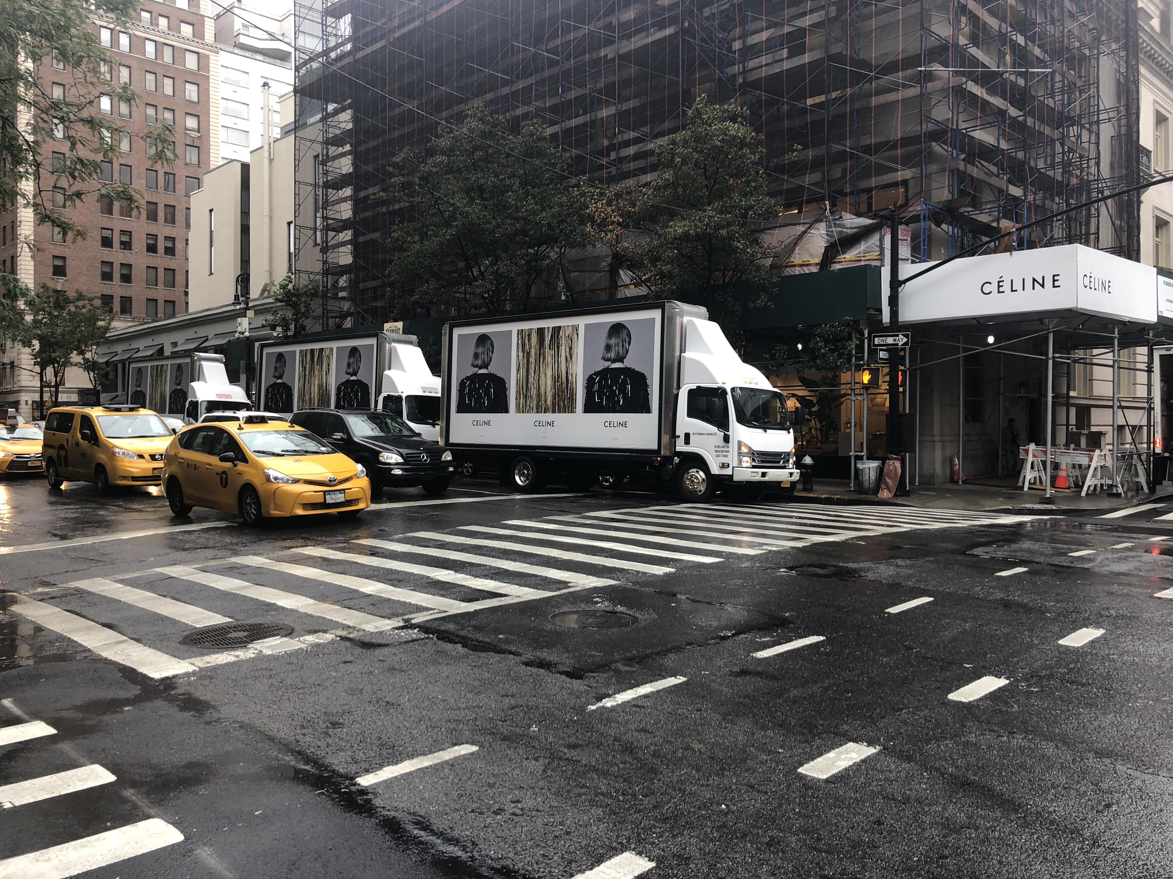 mobile billboards in New York City