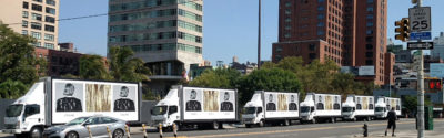 Celine mobile billboards