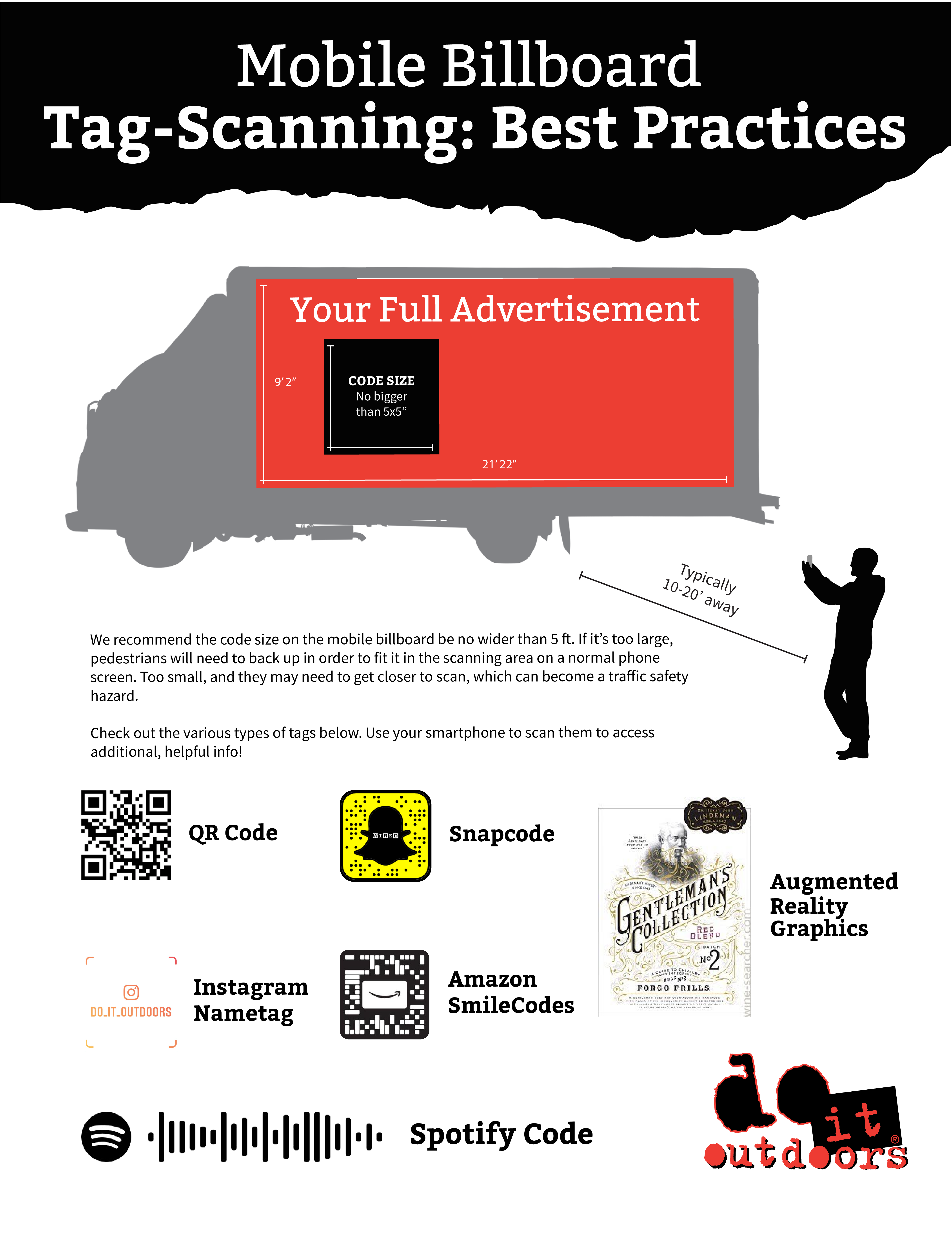 Best Practices For Adding A Mobile Tag To Your Billboard Creative