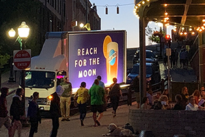 illuminated mobile billboard