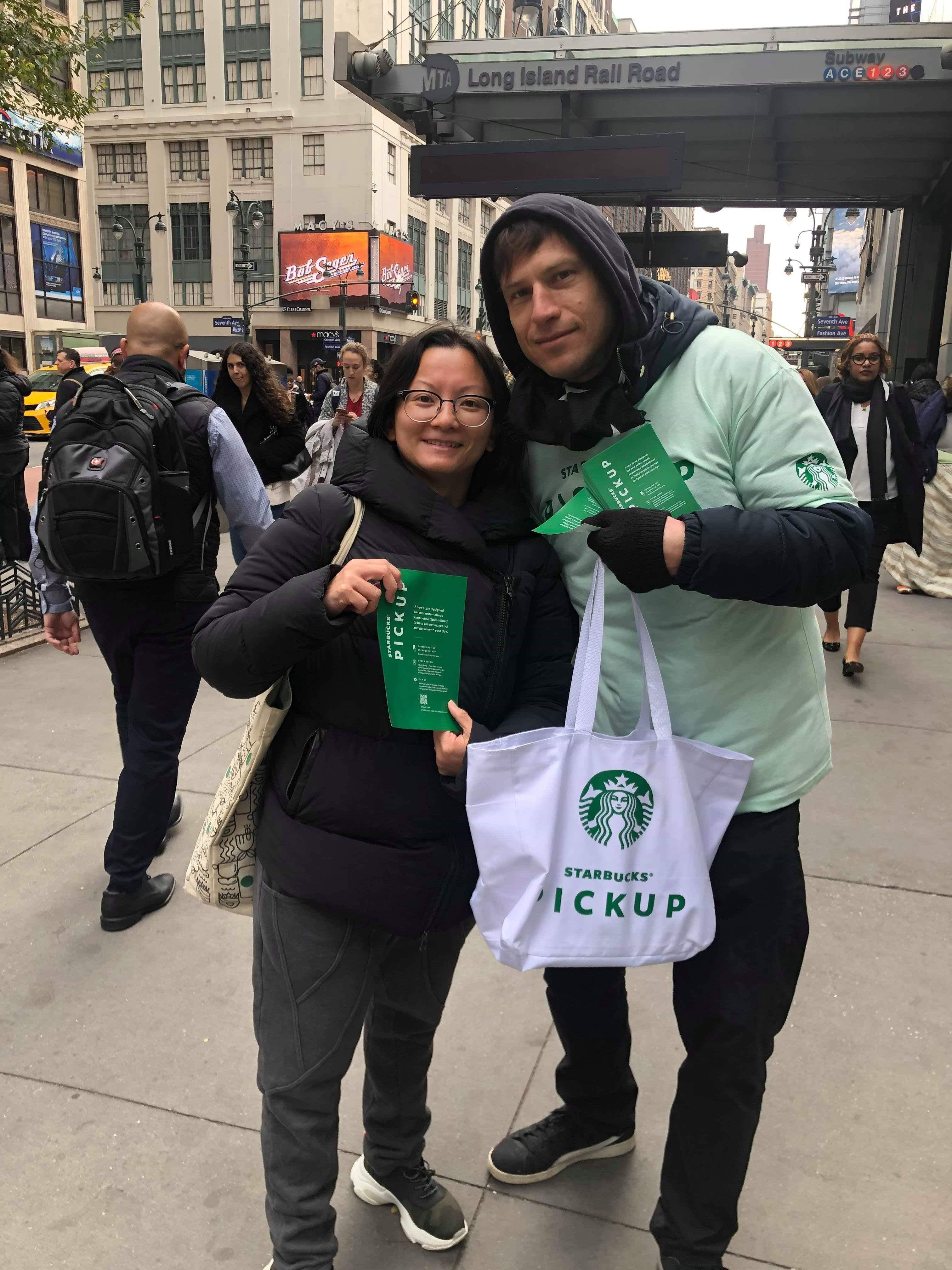 Starbucks brand ambassador teams