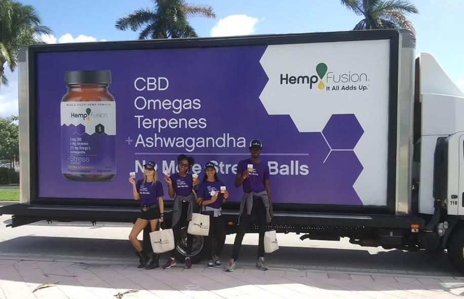 Hempfusion field marketing teams