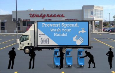 mobile hand-washing stations