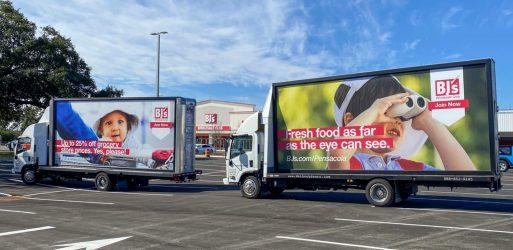 mobile billboard delivery trucks