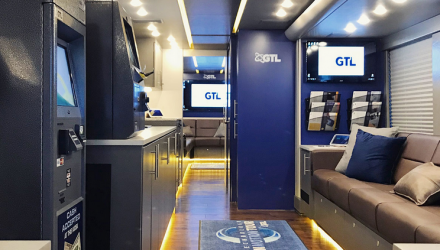 mobile showroom experiential tour