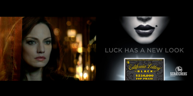'Luck Has a New Look' campaign